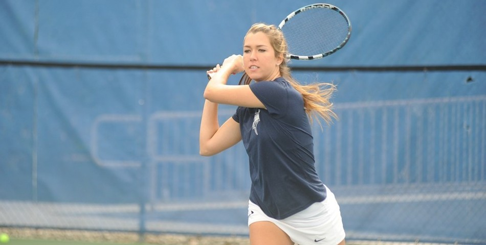 No  7 Tennis Defeats No  16 Flagler and Inclement Weather